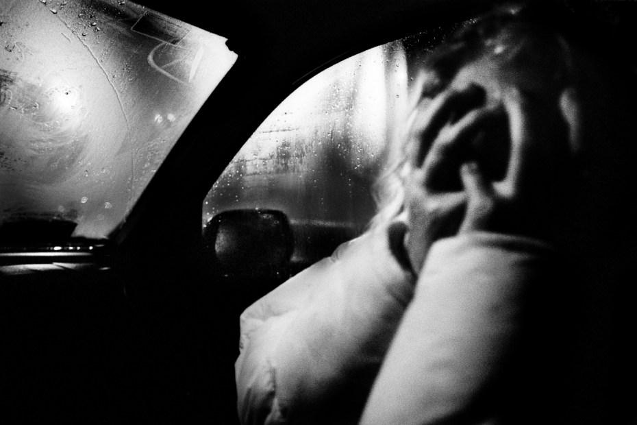 Patrizia is hiding herself. Velletri, Italy 2010. © Matteo Bastianelli