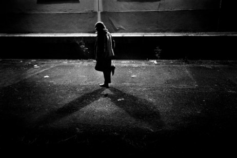 Patrizia is seen dancing at night. Velletri, Italy 2009. © Matteo Bastianelli