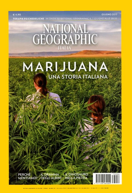 "June 2017- My long-term project ""Green gold"" published as cover story of June's issue of National Geographic Italy."
