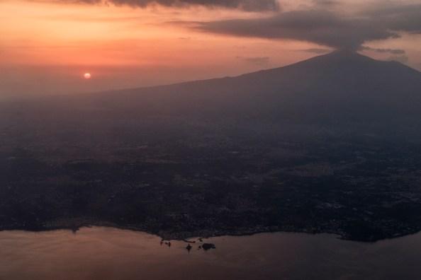 A view of the volcano Etna. Catania, Italy 2016. © Matteo Bastianelli