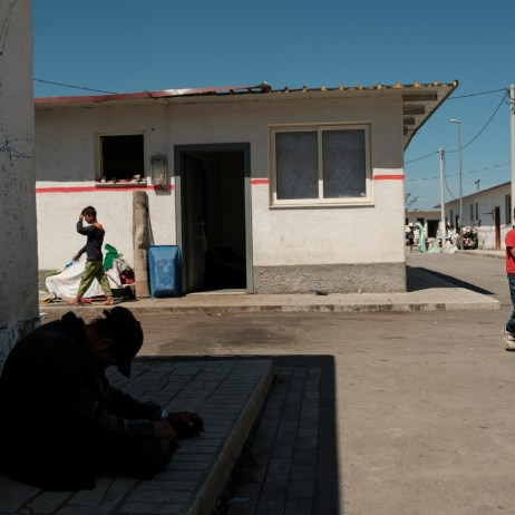 A daily life scene inside a Roma community settlement in Tirana. According to Save the Children, the relationship between child marriage and education is two-way. Child marriage is one of the leading reasons for school drop-out in low-income countries. At the same time girls who are out-of-school are exposed to increased risk factors for child marriage. Tirana, Albania 2019. © Matteo Bastianelli