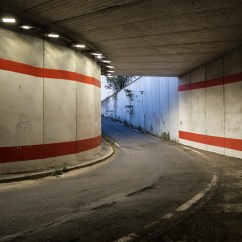 A view from a tunnel near the Roma Tiburtina railway station where a Mali asylum seeker sleep during Italy's lockdown aimed at stopping the spread of coronavirus. Rome, Italy, April 2020. © Matteo Bastianelli/National Geographic Society Covid-19 Emergency Fund
