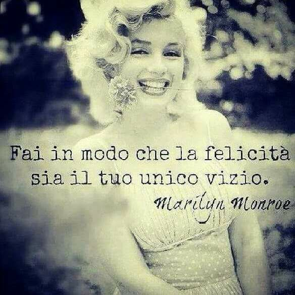 Il vizio di Marilyn Monroe