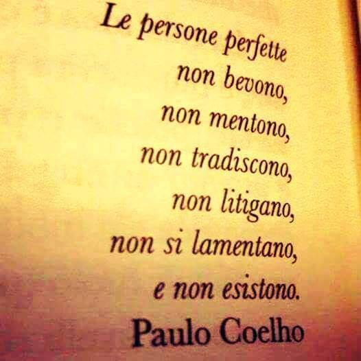 Le persone perfette secondo Paulo Coelho
