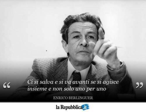 Frase di Enrico Berlinguer
