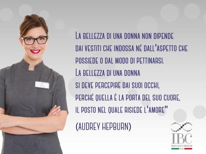 Frase di Audrey Hepburn sulla bellezza
