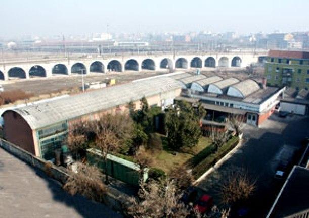Foto aerea della Lamina, Azienda in cui è accaduto l'incidente