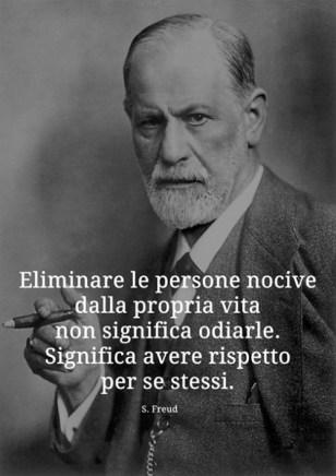 Ritratto in bianco e nero di Sigmund Freud