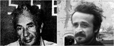 I ritratti in bianco e nero di Aldo Moro e Peppino impastato