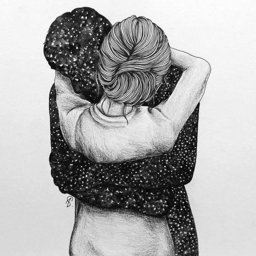 un abbraccio è meglio di WhatsApp
