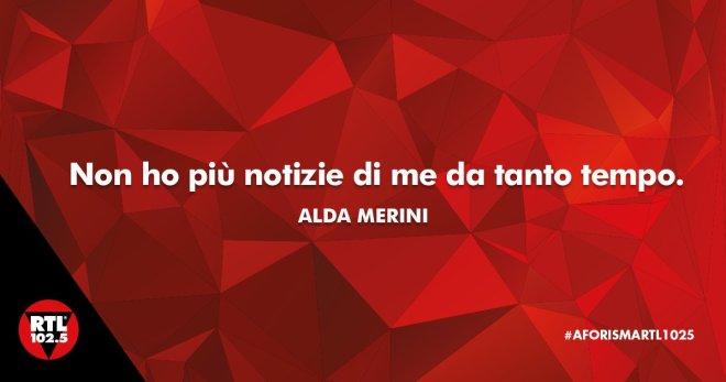 Chi ha notizie di Alda Merini?