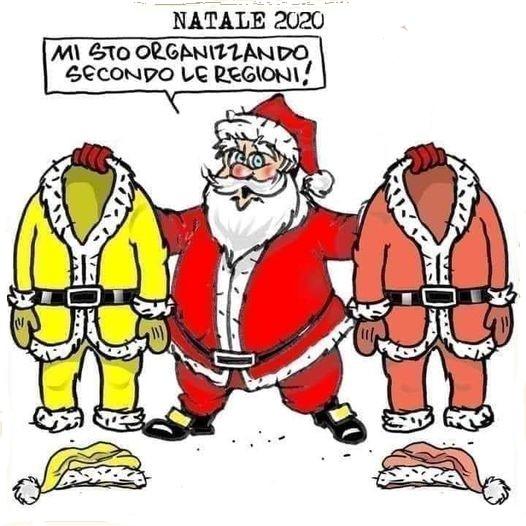 Babbo Natale si sta organizzando secondo le regioni