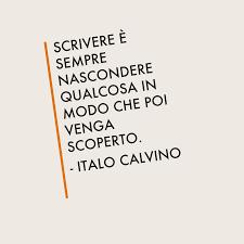 Cos'è scrivere secondo Calvino