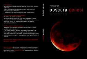 Cover libro game Obscura Genesi