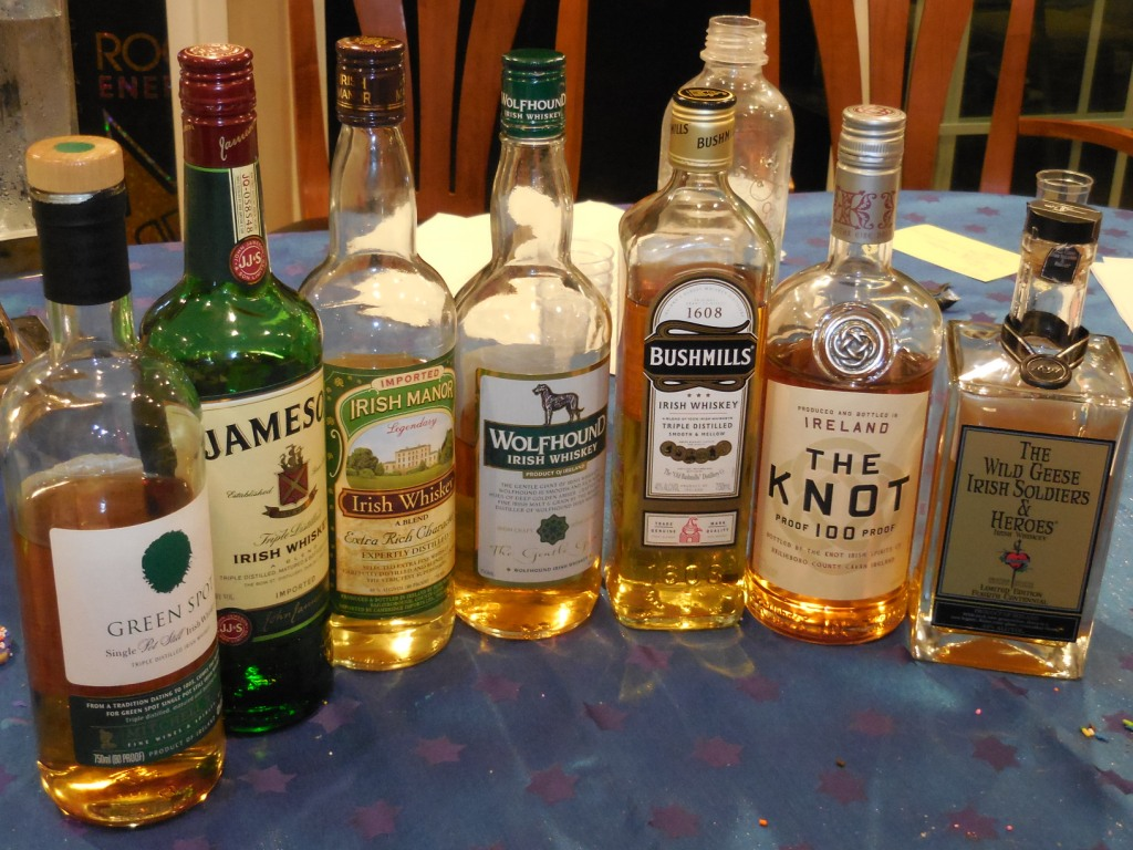 My First-Ever Irish Whiskey-Tasting [Whiskey Wednesday]