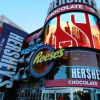 Hershey's Store in Las Vegas Has Been Serving Customers for A Half-Year