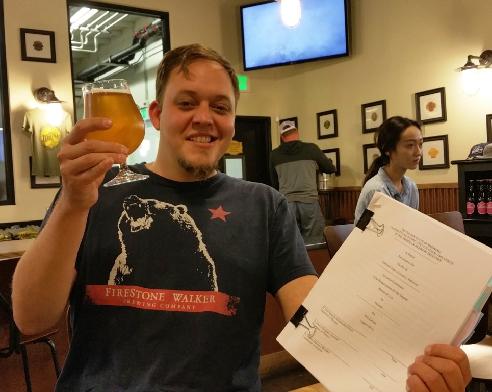 Master's Thesis About History of Beer in California and Its Influence on the American Brewing Industry