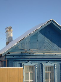 Silver chimney