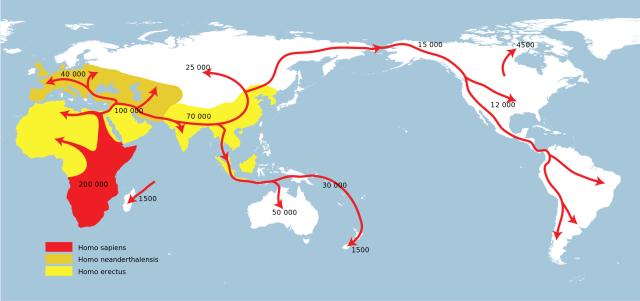 Mankind Migration