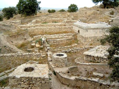 Ruins of troy