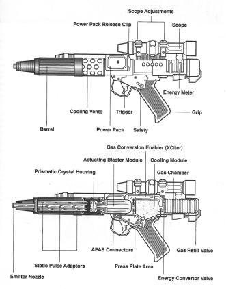 Blaster schematic
