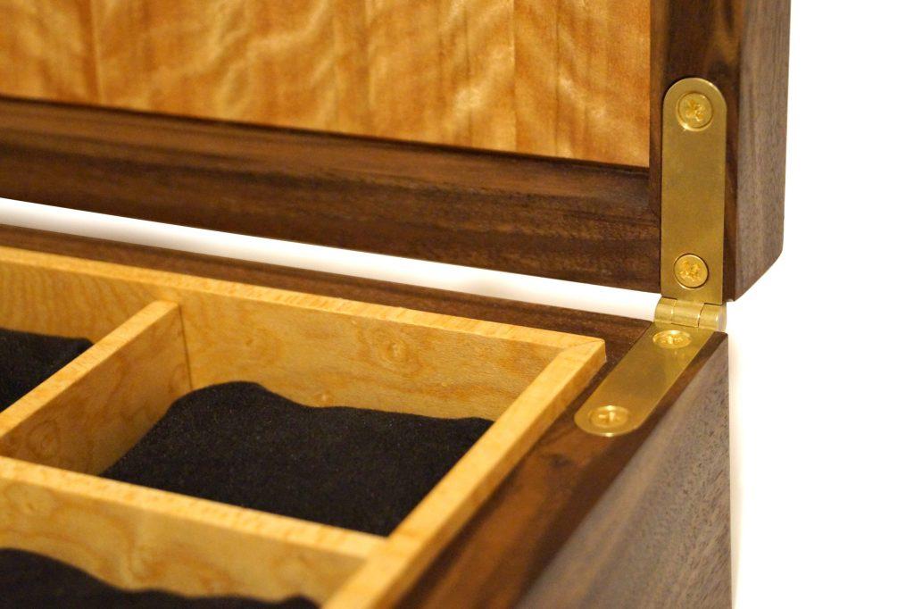 Hinge Detail on Watch Box