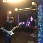 pre-gig, Prince Albert, June (Peter Cat onstage)