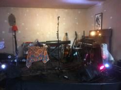 pre-gig, Rose Hill, July