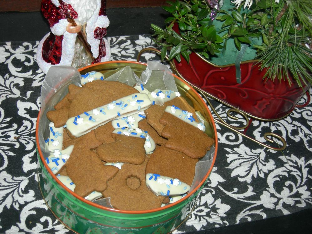 Poetry Friday: Christmas cookies - and