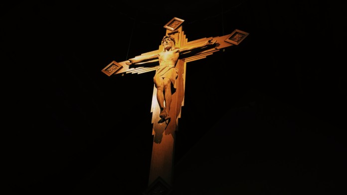 Cross in the Immaculate Conception Chapel