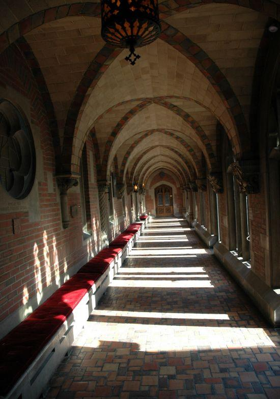 Cloister at Chicago Theological Seminary (2007)