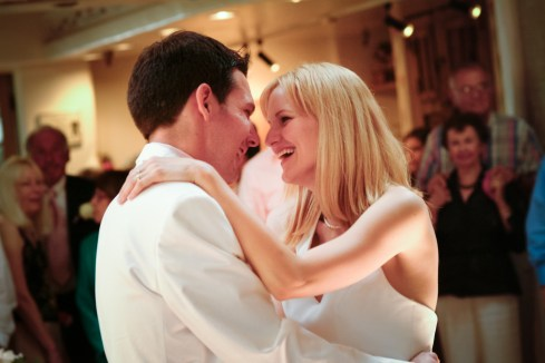 Bride and Groom's First Dance at Wedding - MattGeorge.me