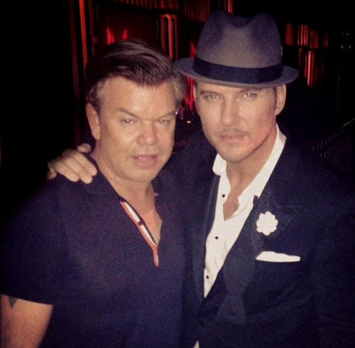 Matt with Paul Oakenfold