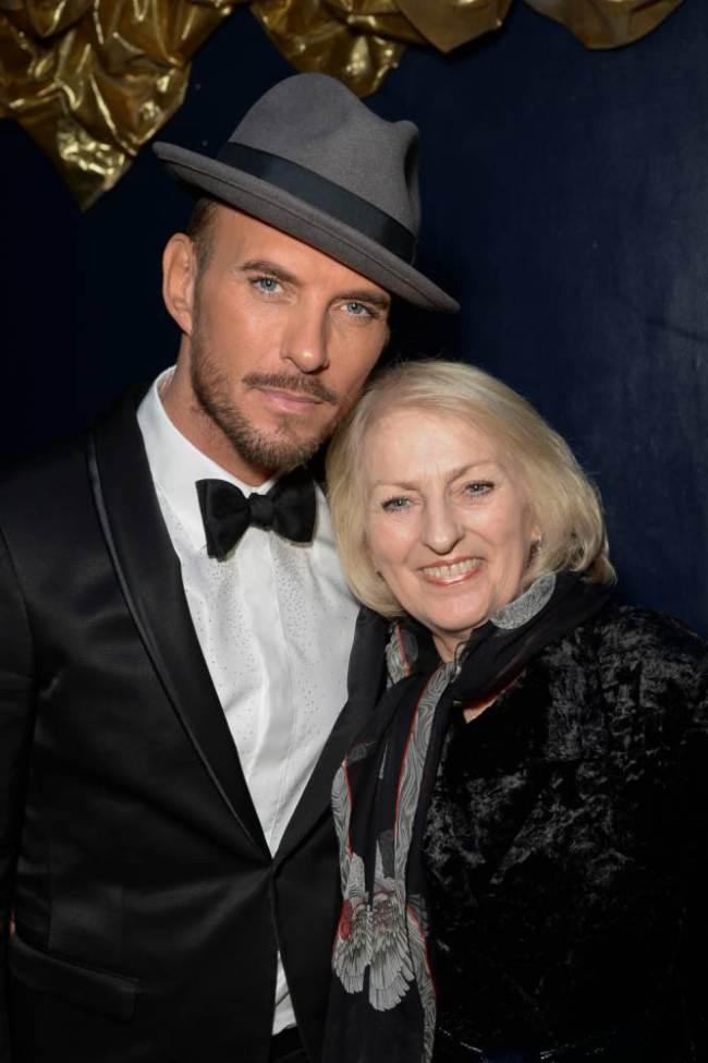 Matt with his mum Carol