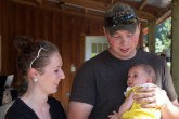 Uncle Andrew, Kiersten, & Niece Brenna. (those two are now engaged).