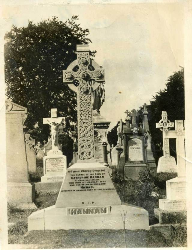 1942 Catherine Hannan Headstone