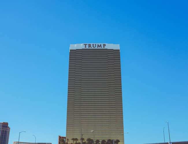 Picture of Trump Tower.