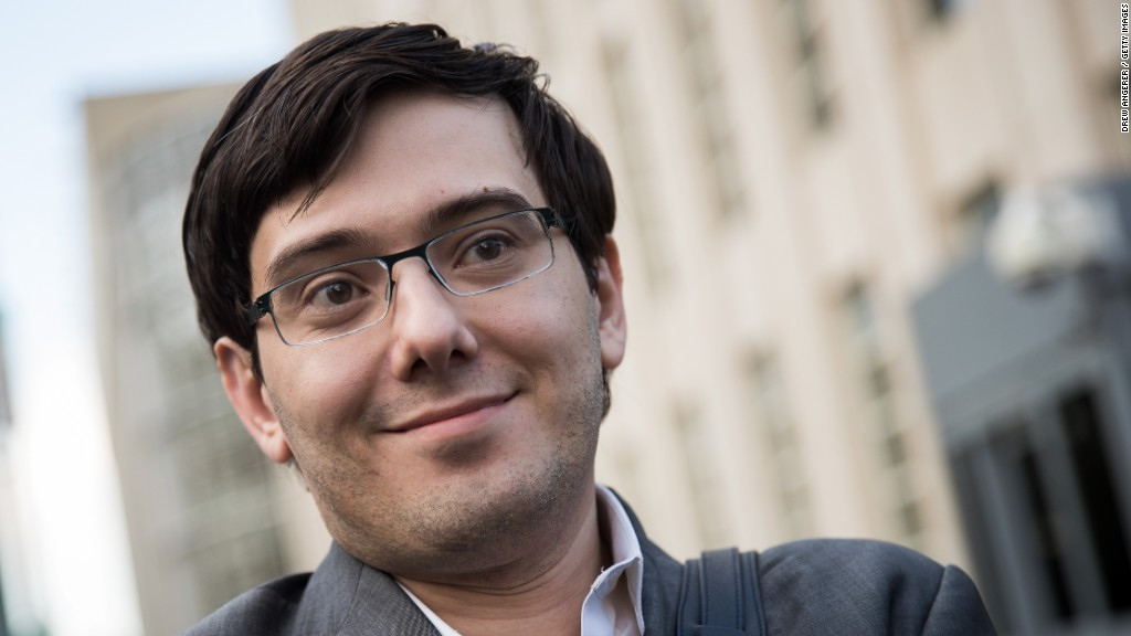 Brand Awareness Martin Shkreli