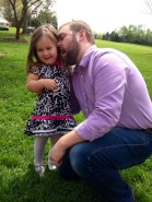 Uncle Matthew loves his niece Emma