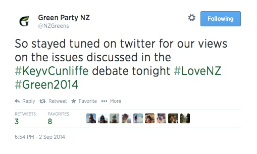 Green_Party_NZ_on_Twitter__So_stayed_tuned_on_twitter_for_our_views_on_the_issues_discussed_in_the__KeyvCunliffe_debate_tonight__LoveNZ__Green2014