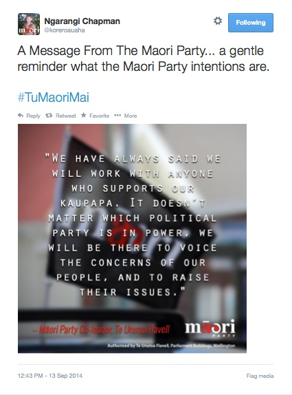 Ngarangi_Chapman_on_Twitter___A_Message_From_The_Maori_Party____a_gentle_reminder_what_the_Maori_Party_intentions_are___TuMaoriMai_http___t_co_xyjve2sKAX_