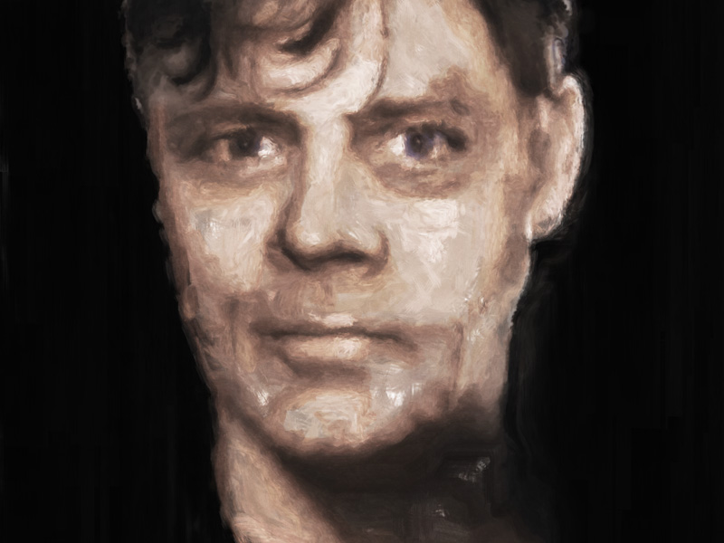 mark hamill portrait