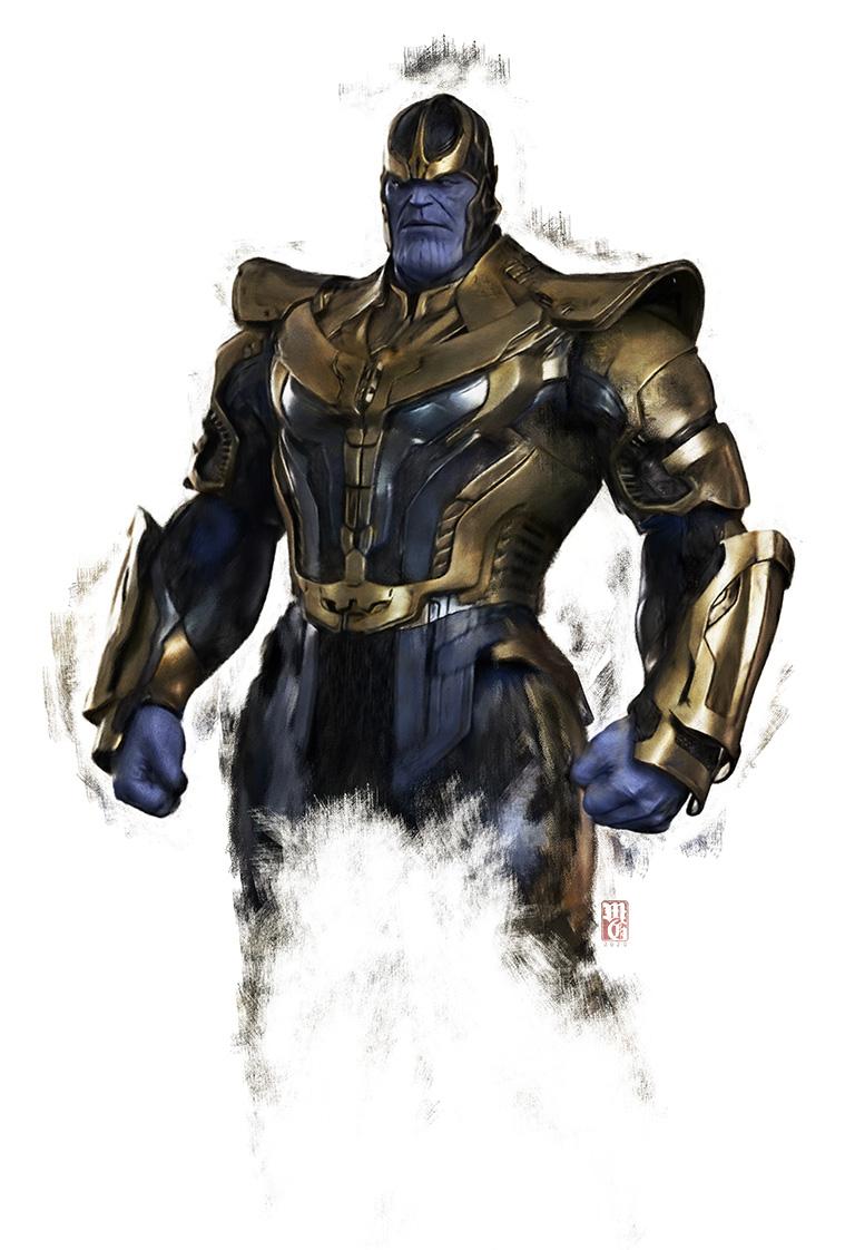 Portrait of Thanos