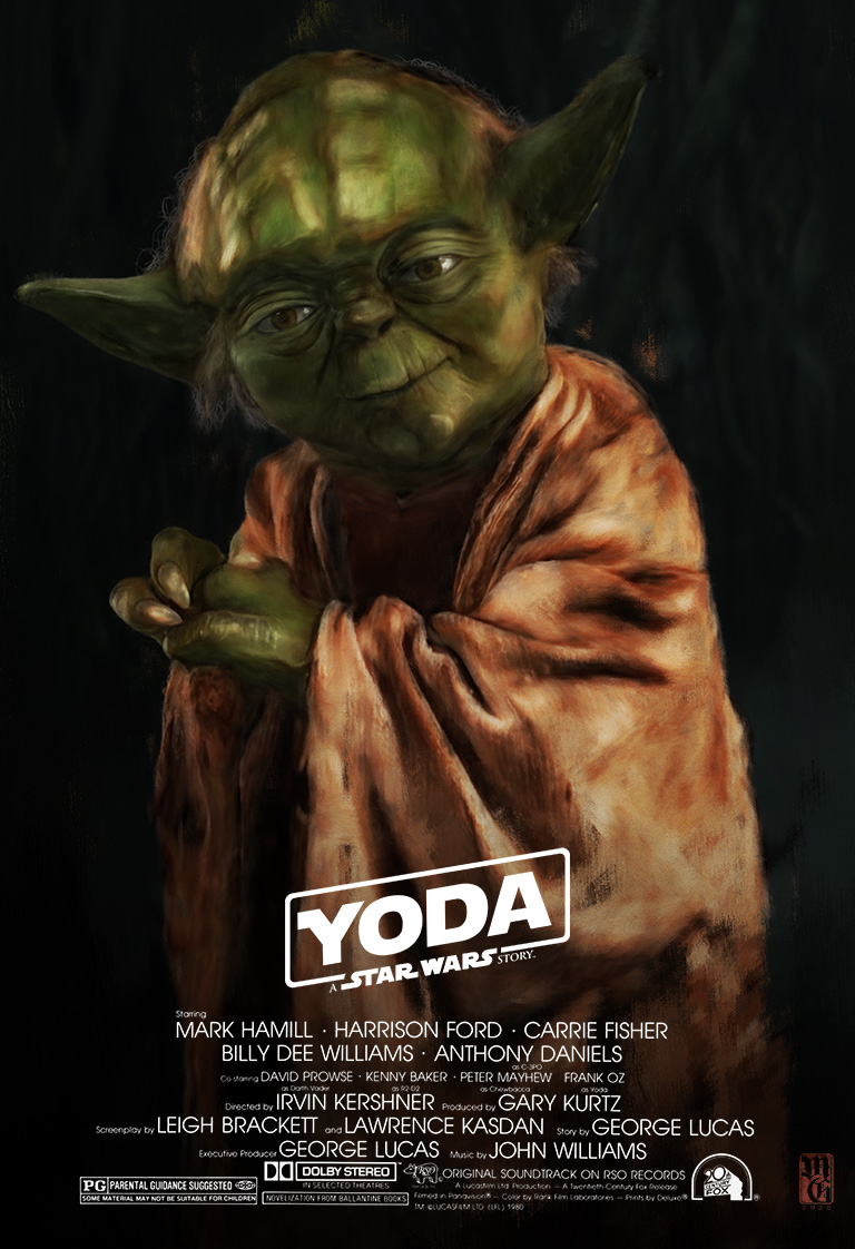 Yoda, a Star Wars Story movie poster