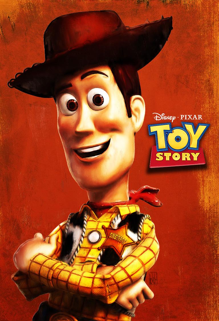 Toy Story alt-fan poster