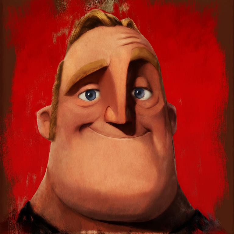 Portrait of Bob Parr