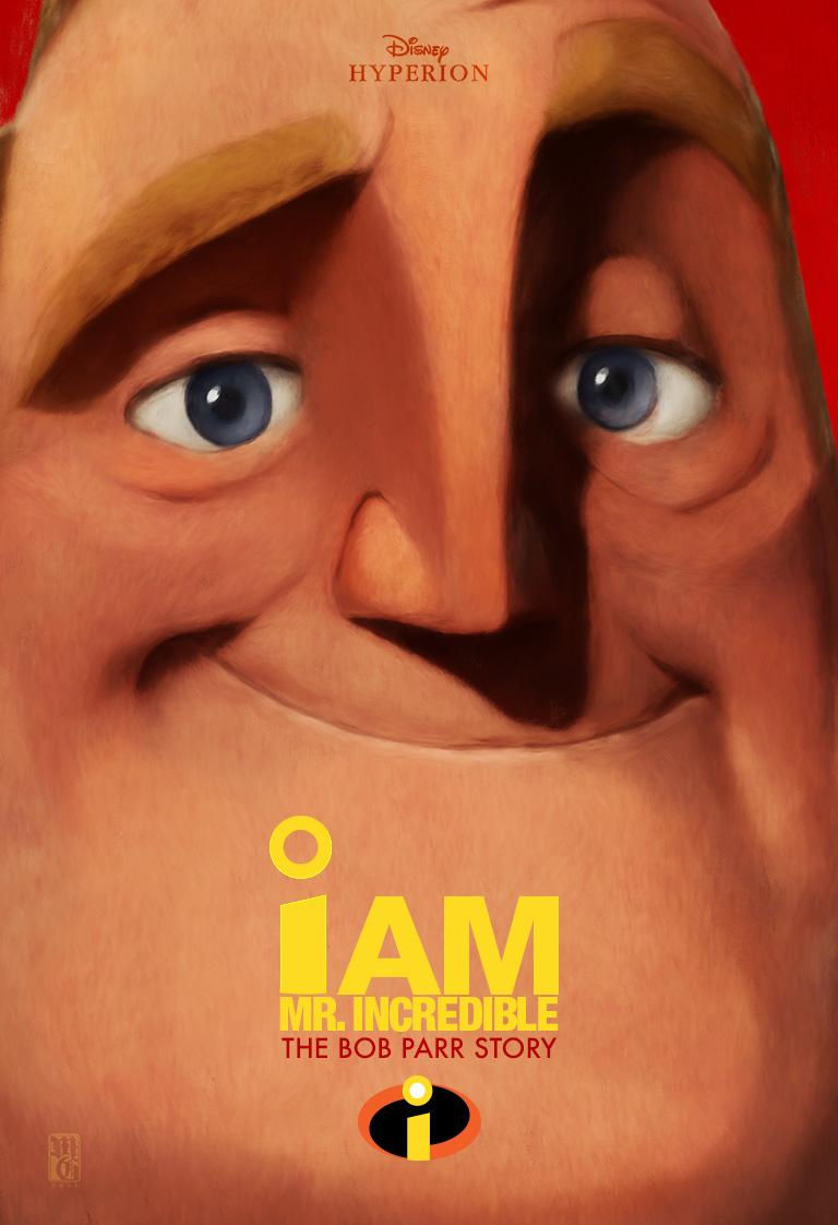 I am Bob Parr, book cover/poster design