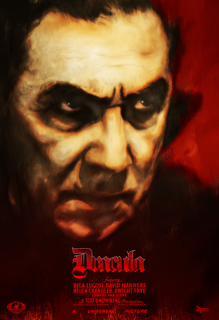 Alt-fan poster for the classic Dracula movie