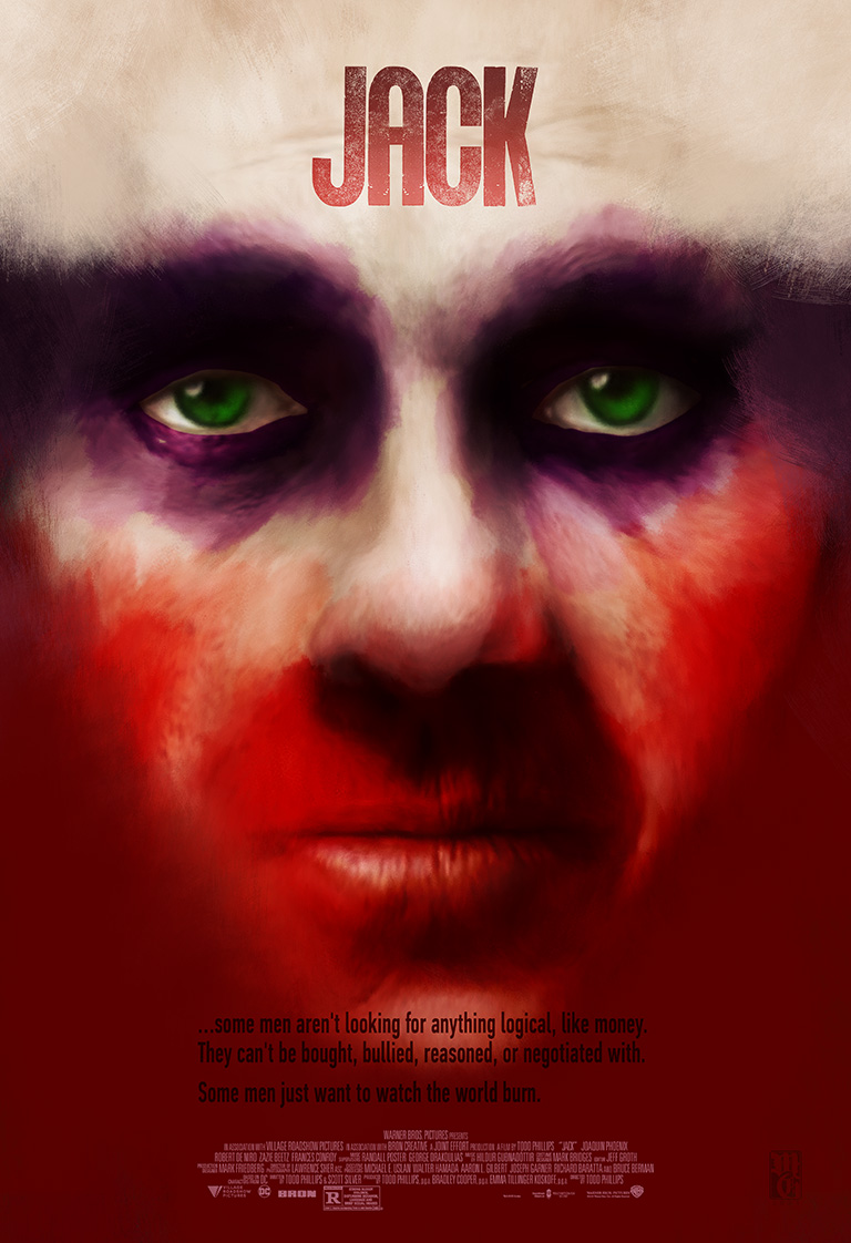 alt-fan movie poster for a Joker film