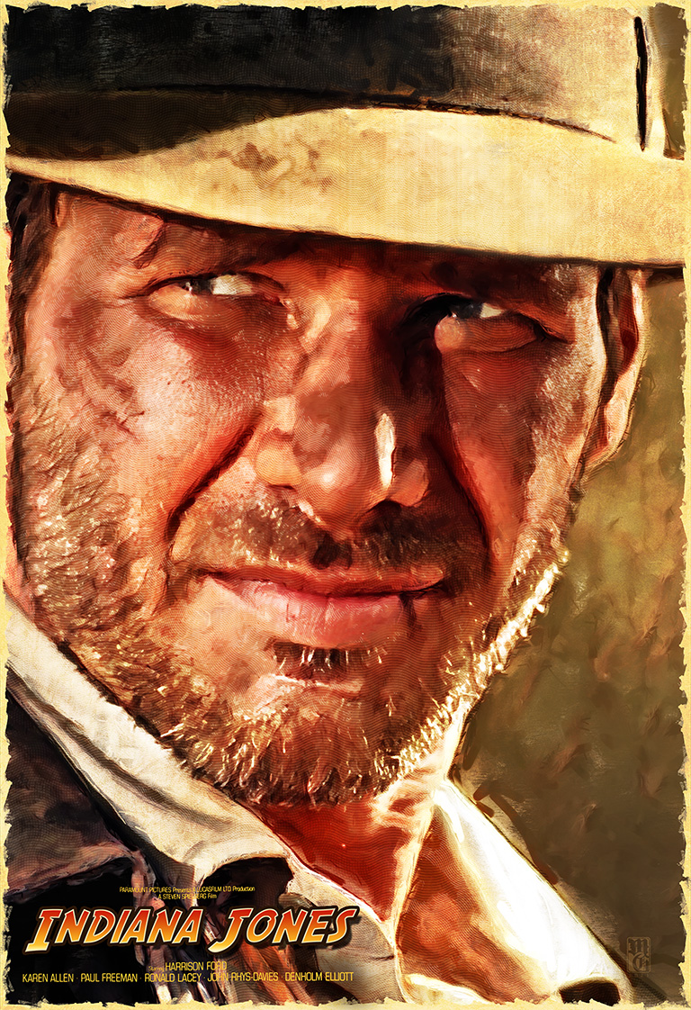 Alternative Movie Poster for Indiana Jones